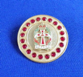 QUEEN ALEXANDRA'S ROYAL ARMY NURSING CORPS ( QARANC ) BROACH / BROOCH (GRS)